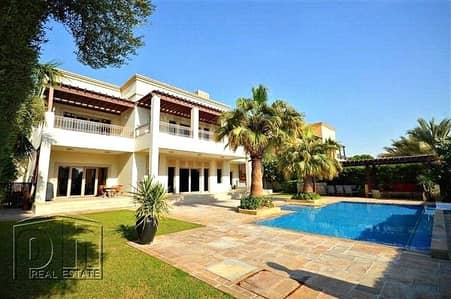 6 Bedroom Villa for Rent in Emirates Hills, Dubai - Vastu Compliant 6 Bed Villa - Full Lake View