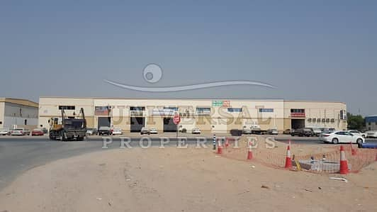 Industrial Land for Sale in Ajman Industrial, Ajman - 78000 Sqft Land Available For Sale with Boundary Wall Near China Mall Ajman