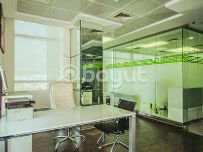 Office for Rent in Bur Dubai, Dubai - 220 sq. ft. Office Space for Limited Offer with Economical Prices