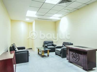 مکتب  للايجار في القرهود، دبي - مکتب في بناية إيميتاك القرهود 2000 درهم - 3566561