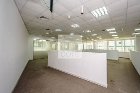 Office for Rent in Dubai Media City, Dubai - Well Located | Fitted Office | Low Floor