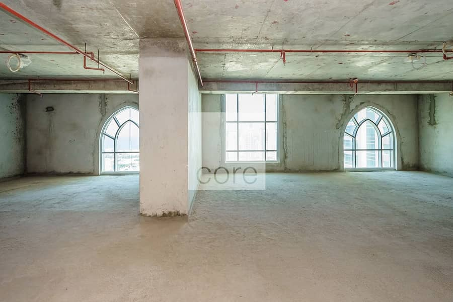Shell And Core Office For Rent In Dome JLT