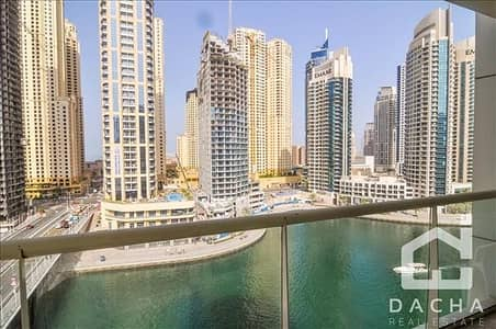 2 Bedroom Apartment for Rent in Dubai Marina, Dubai - Low floor 2 Bed with full marina view