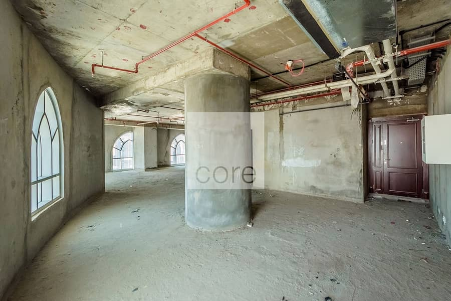 2 Shell And Core Office For Rent In Dome JLT