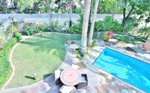 3 Bedroom Villa for Rent in The Springs, Dubai - Upgraded & Extended - Large Private Pool