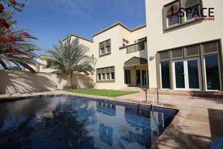 3 Bedroom Villa for Rent in Jumeirah Park, Dubai - Available Now   Close to Park   4 Cheques