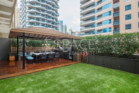 2 Bedroom Flat for Sale in Dubai Marina, Dubai - Rare Private Garden | Stunning Upgrades