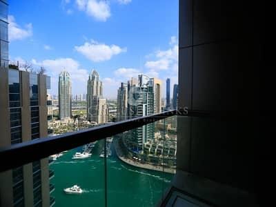 2 Bedroom Apartment for Rent in Dubai Marina, Dubai - A most unique 2 Bedroom with Marina View