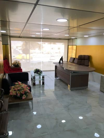 Office for Rent in Al Mowaihat, Ajman - OFFICE SPACE FOR RENT/MEZZANINE FLOOR/DIRECT FROM THE OWNER