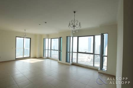 2 Bedroom Apartment for Sale in Downtown Dubai, Dubai - Vacant Two Bed | High Floor | Burj View