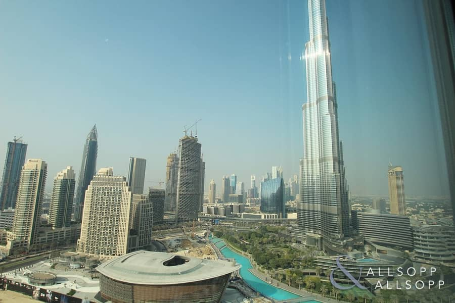 2 Vacant Two Bed   High Floor   Burj View