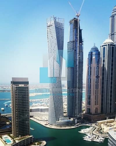 1 Bedroom Flat for Sale in Dubai Marina, Dubai - 1BR Sea View for Sale in Damac Heights Dubai Marina