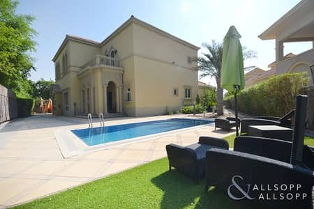 4 Bedroom Villa for Rent in Jumeirah Islands, Dubai - 4 Bedrooms | Landscaped Gardens | Vacant