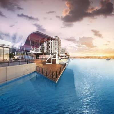 Studio for Sale in Yas Island, Abu Dhabi - Full Sea View! Studio Apt with Balcony