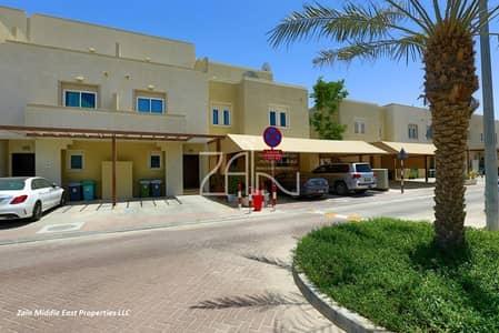 4 Bedroom Villa for Sale in Al Reef, Abu Dhabi - Single Row! Corner 4BR Villa Huge Garden