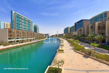 4 Bedroom Townhouse for Rent in Al Raha Beach, Abu Dhabi - Canal View! Large 4 BR with Private Pool