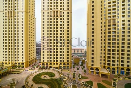 3 Bedroom Apartment for Rent in Jumeirah Beach Residence (JBR), Dubai - Very Good Condition Nice Layout 3BR+Maids