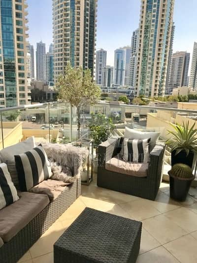 2 Bedroom Flat for Rent in Dubai Marina, Dubai - Luxury 2 BR+Storage  Marina View