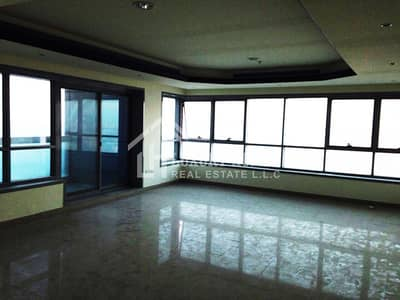 2 Bedroom Flat for Rent in Corniche Ajman, Ajman - Fantastic!! Seaview 2 BHK with Parking for Rent in Corniche Tower, Ajman