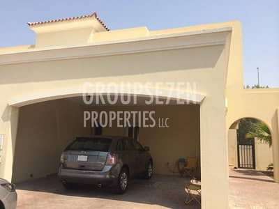 3 Bedroom Villa for Rent in The Lakes, Dubai - Corner 3 BDR Wt Study Adorable Villa Vacant March