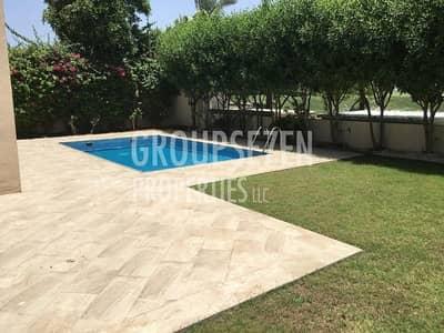 4 Bedroom Villa for Rent in Al Garhoud, Dubai - Amazing 4 BR Villas with swimming pool with golf view  in Dubai Al Garhoud
