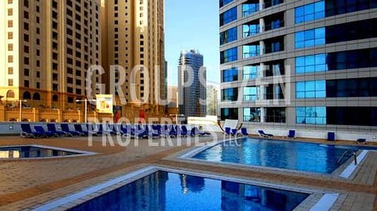 1 Bedroom Flat for Rent in Dubai Marina, Dubai - 1 Bedroom Apartment for rent in Dorra Bay Dubai Marina