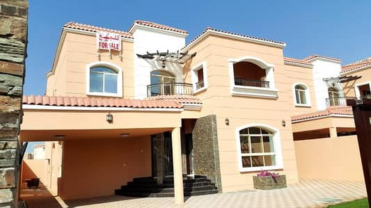 5 Bedroom Villa for Sale in Al Mowaihat, Ajman - villa for sale in ajman superdelux 100% freehold