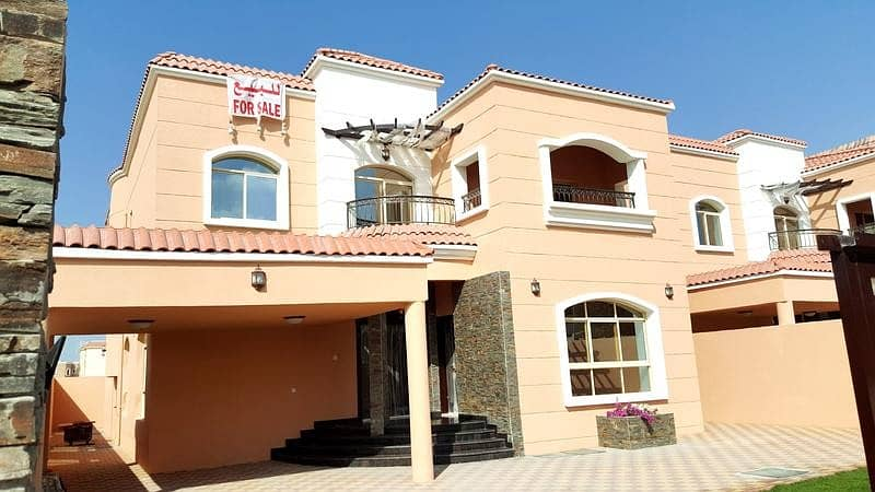villa for sale in ajman superdelux 100% freehold