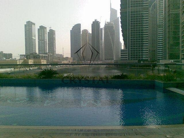 Awesome 2 Bedroom Apartment at MAG 214 Tower AED 105