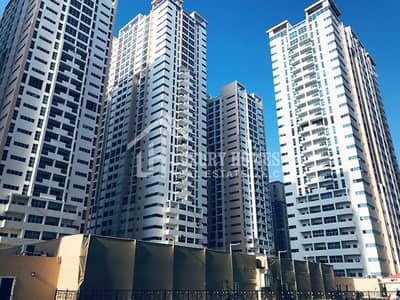 1 Bedroom Flat for Rent in Al Sawan, Ajman - Open-view !! One Bedroom at 28,000 AED for Rent in Ajman One Towers, Ajman