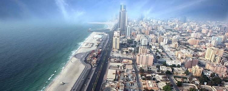 1 Bedroom Flat for Rent in Emirates City, Ajman - Spacious 1 bhk high floor  !