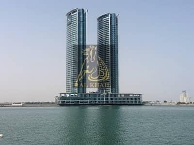 شقة 1 غرفة نوم للبيع في جلفار، رأس الخيمة - Priced to sell ... Full Sea View 1 Bedroom for Sale in Julfar Tower