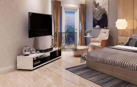 استوديو  للبيع في الفرجان، دبي - Fully Furnished! Elegant Studio Hotel Apartment for sale in Al Furjan | Easy Payment Plan | Pool View