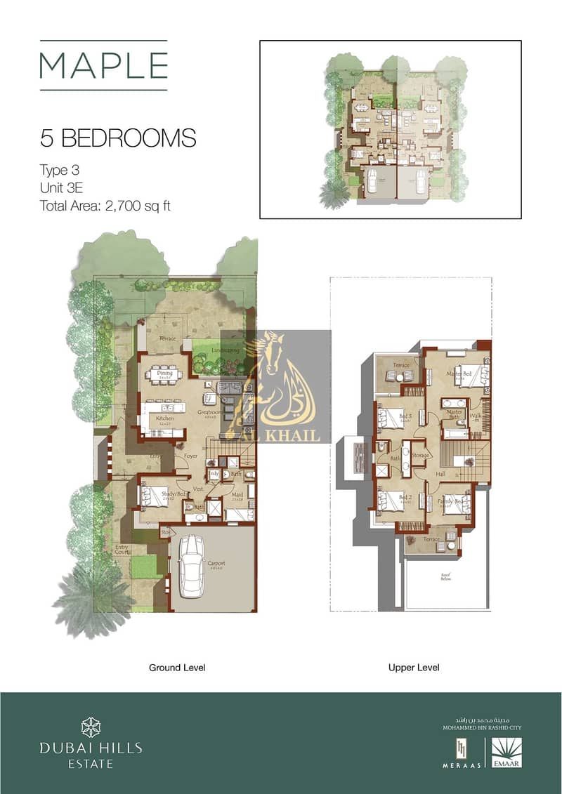 2 5 bedroom in Maple Phase I end-unit Single row for sale