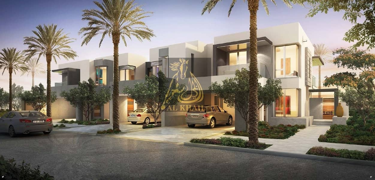 7 Large 5-Bedroom Townhouse in Maple Phase I   End-unit Single Row for sale in Dubai Hills Estate