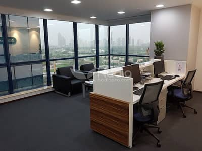 Office for Sale in Jumeirah Lake Towers (JLT), Dubai - Furnished & Fully Fitted Office | X3 Tower | JLT | For Sale
