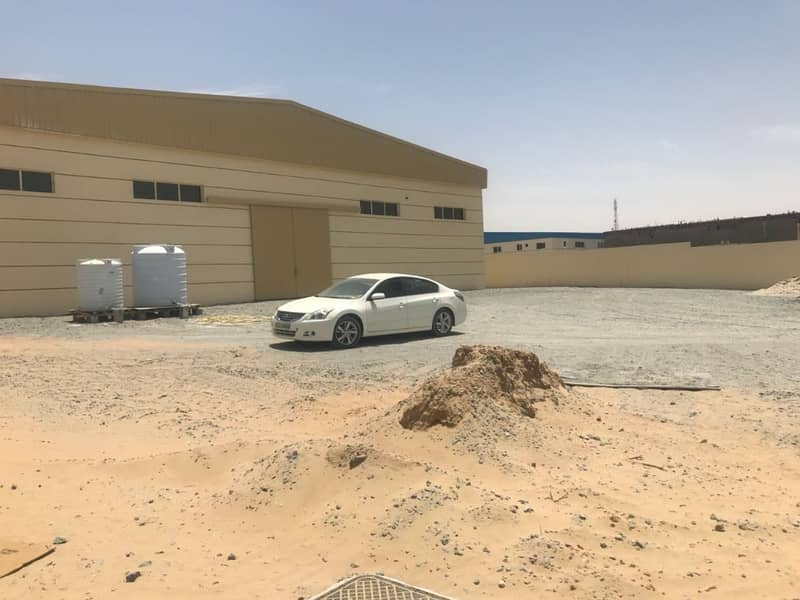 Warehouse with FREE LAND available for Sale in Ajman,  Al Jurf industrial Area. 25000 square feet