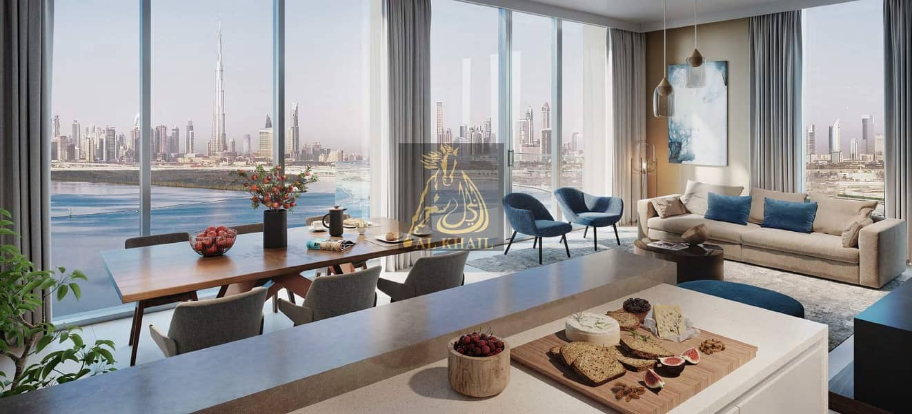 2 Amazing 4BR Apartment for sale in Dubai Creek Harbour | Offers 50% DLD Fee with 3 Yrs Post Handover | Affordable Price