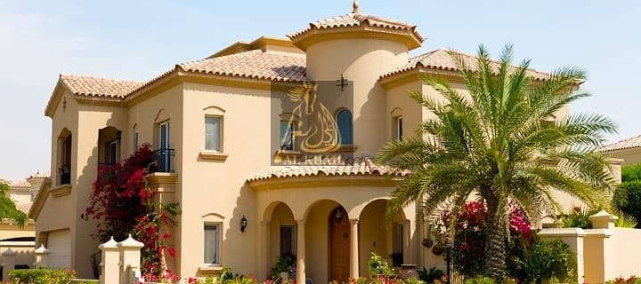 11 Magnificent 4BR Villa for sale in Arabian Ranches |Spanish-style homes | Ready to Move with 3 Yrs Post handover