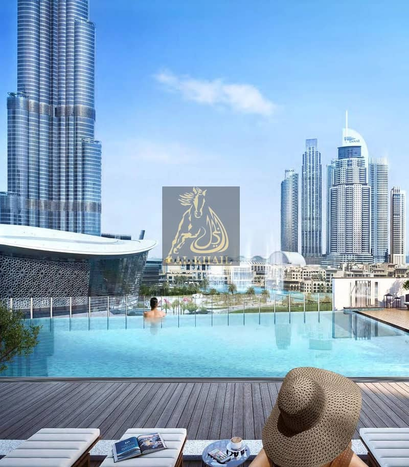 Lavish 3BR Apartment for sale in Downtown Dubai | Attractive Payment Plan | Perfect Location