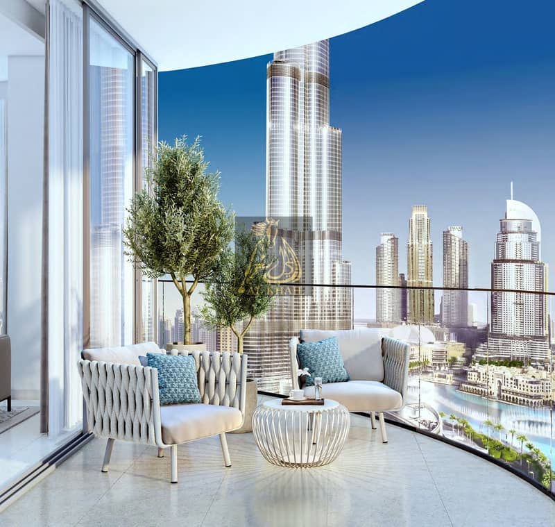 2 Lavish 3BR Apartment for sale in Downtown Dubai | Attractive Payment Plan | Perfect Location