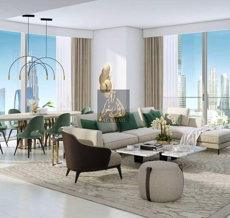 Lavish 3BR Apartment for sale in Downtown Dubai   Attractive Payment Plan   Perfect Location