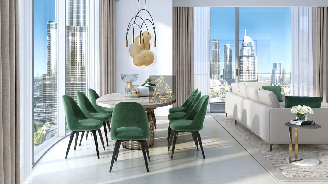 11 Lavish 3BR Apartment for sale in Downtown Dubai | Attractive Payment Plan | Perfect Location