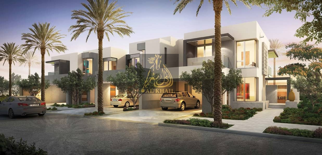 Magnificent 4 and 5 Bedroom Townhouses for sale in Dubai Hills Estate | 4% Free DLD Waiver with 4 Years Post Handover