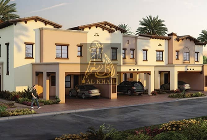 2 Magnificent 4BR Modern Townhouse for sale in Reem Community | 50% Off DLD Waiver | 3 Years Post Handover