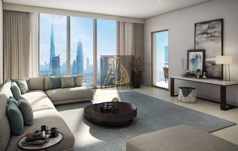 5% Down Payment | High-end 2BR Apartment in Downtown Dubai | Stunning Views of Downtown Community