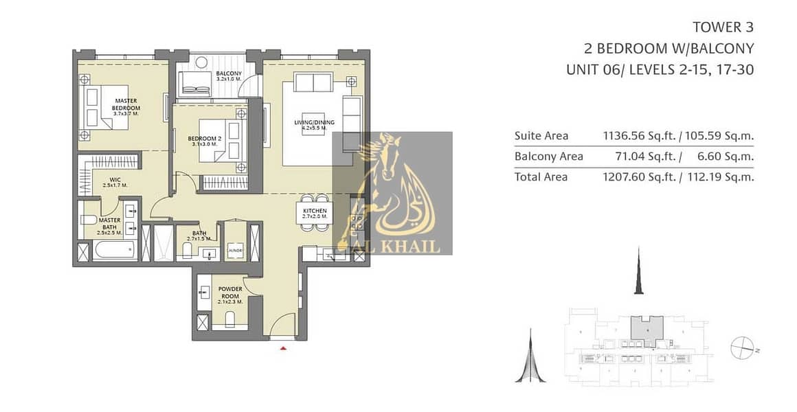 2 5% Down Payment | High-end 2BR Apartment in Downtown Dubai | Stunning Views of Downtown Community