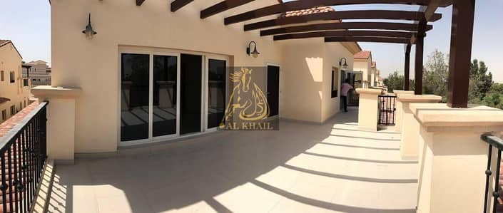 Ready Large 5BR Spanish-Style Luxury Villa for sale in Jumeirah Golf Estate | Flexible Payment Plan | Golf Course View