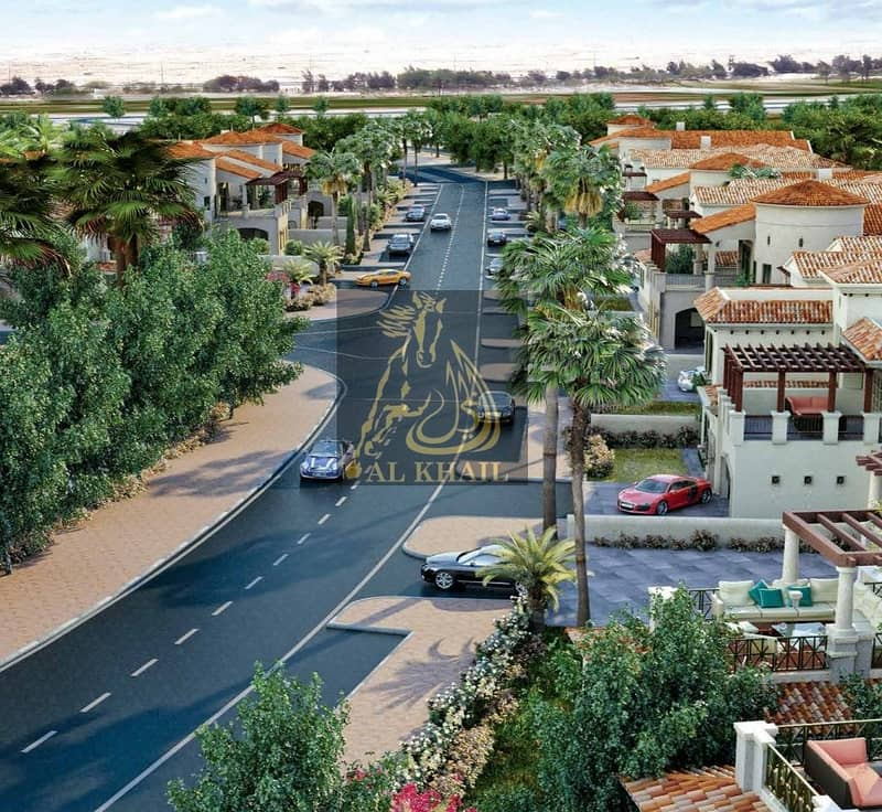 8 Ready Large 5BR Spanish-Style Luxury Villa for sale in Jumeirah Golf Estate | Flexible Payment Plan | Golf Course View