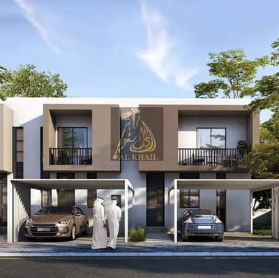 Opulent 3BR Townhouse for sale in Aljada | Only 5% Booking Fee! | 1% Monthly Installment | Affordable Price